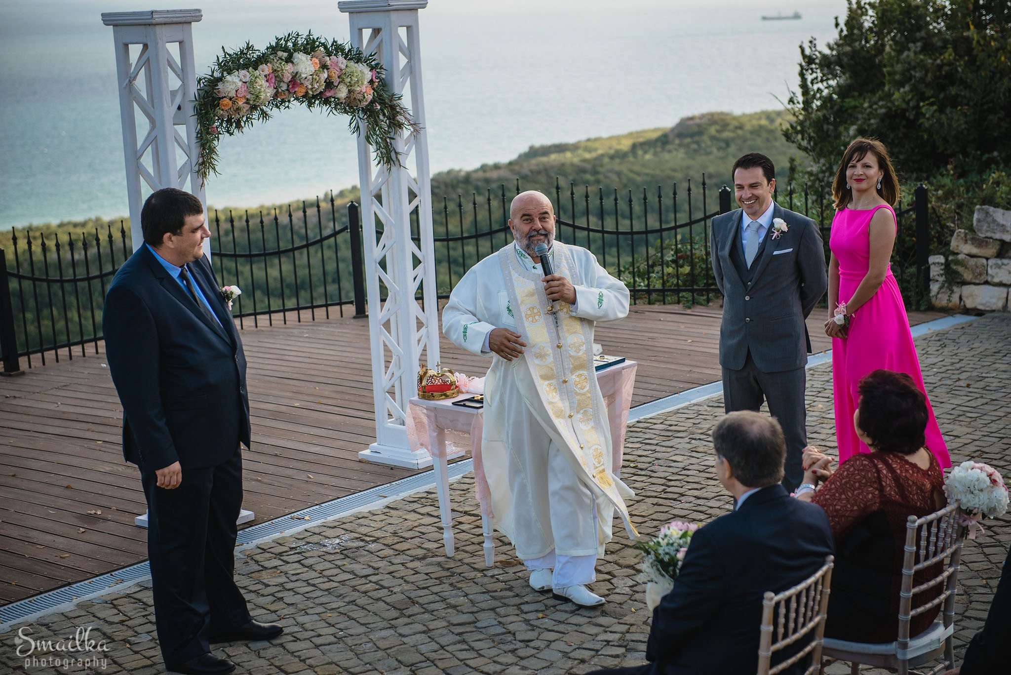 Photography of a wedding ritual at Black Sea Rama