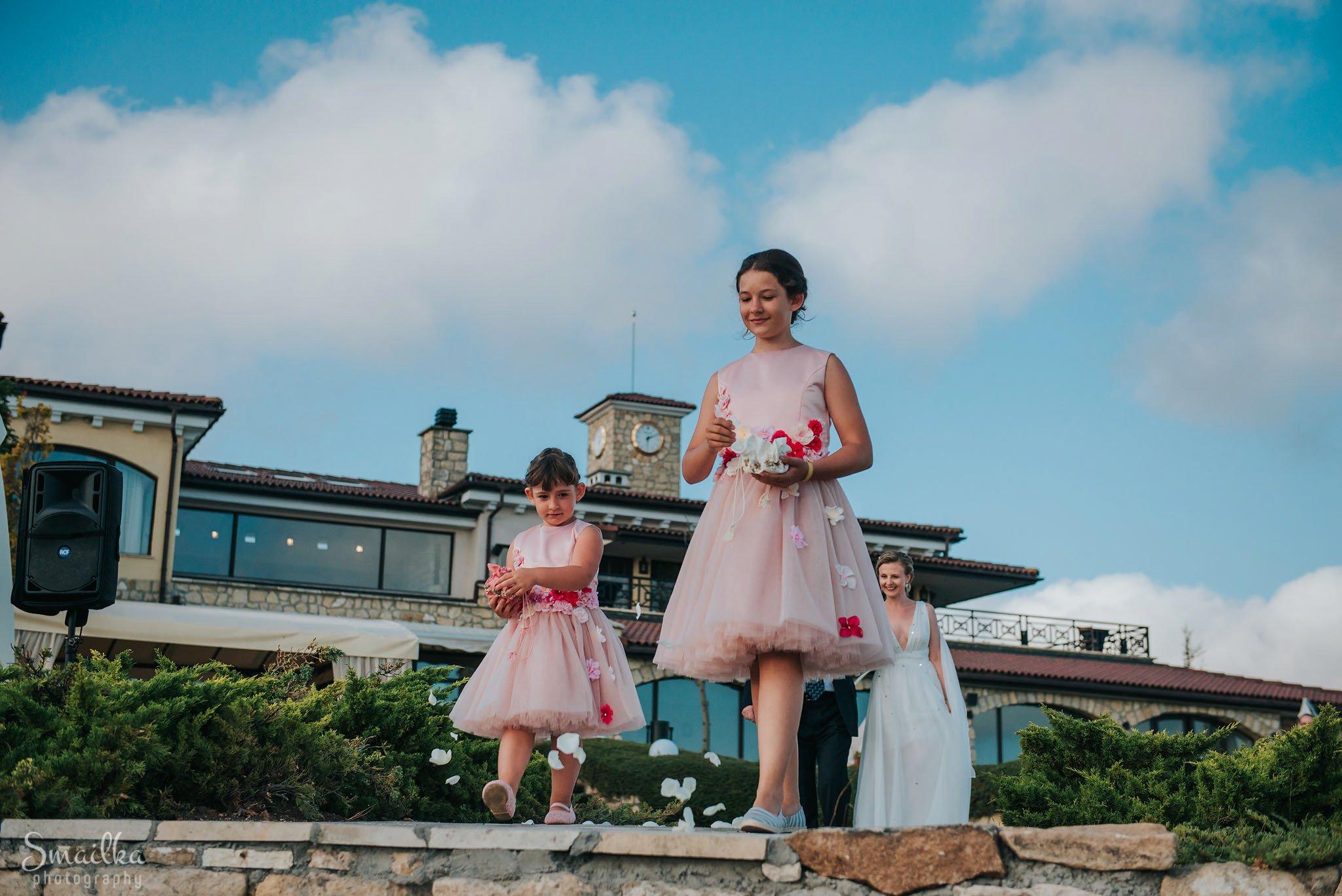 Little brides at Black Sea Rama
