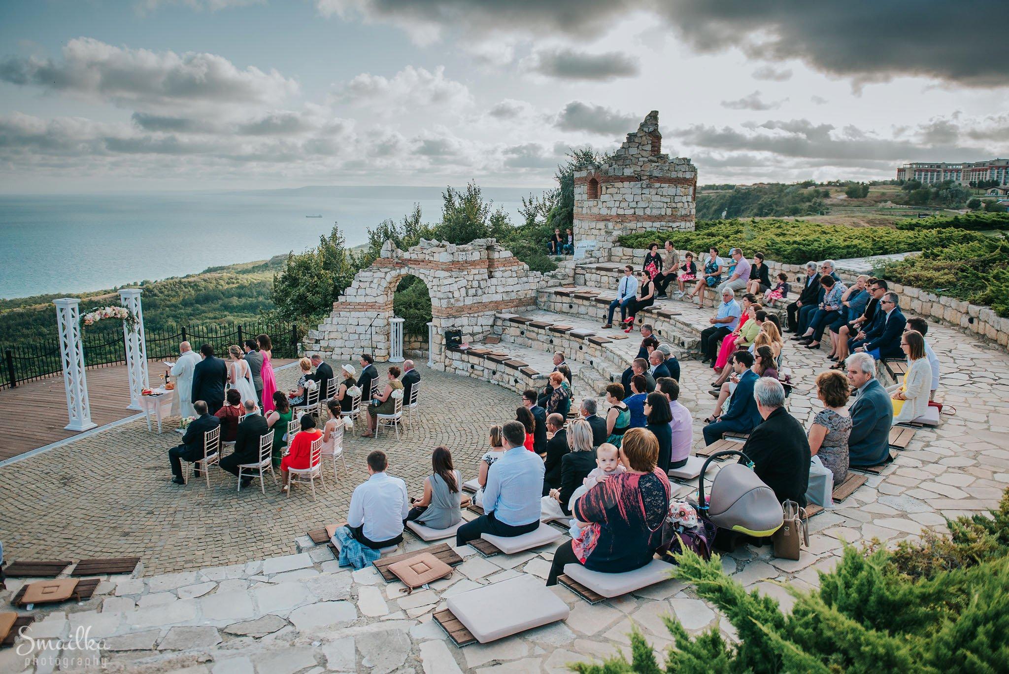 Wedding venue at Black Sea Rama