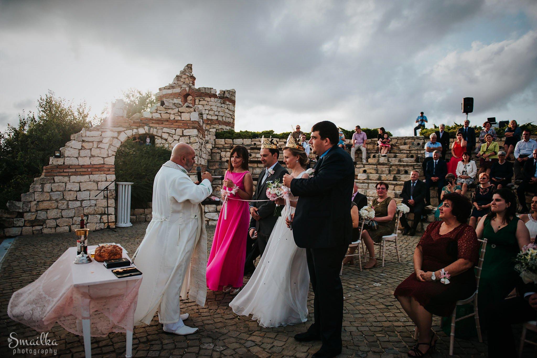 Ana and Boz wedding ritual at Black Sea Rama
