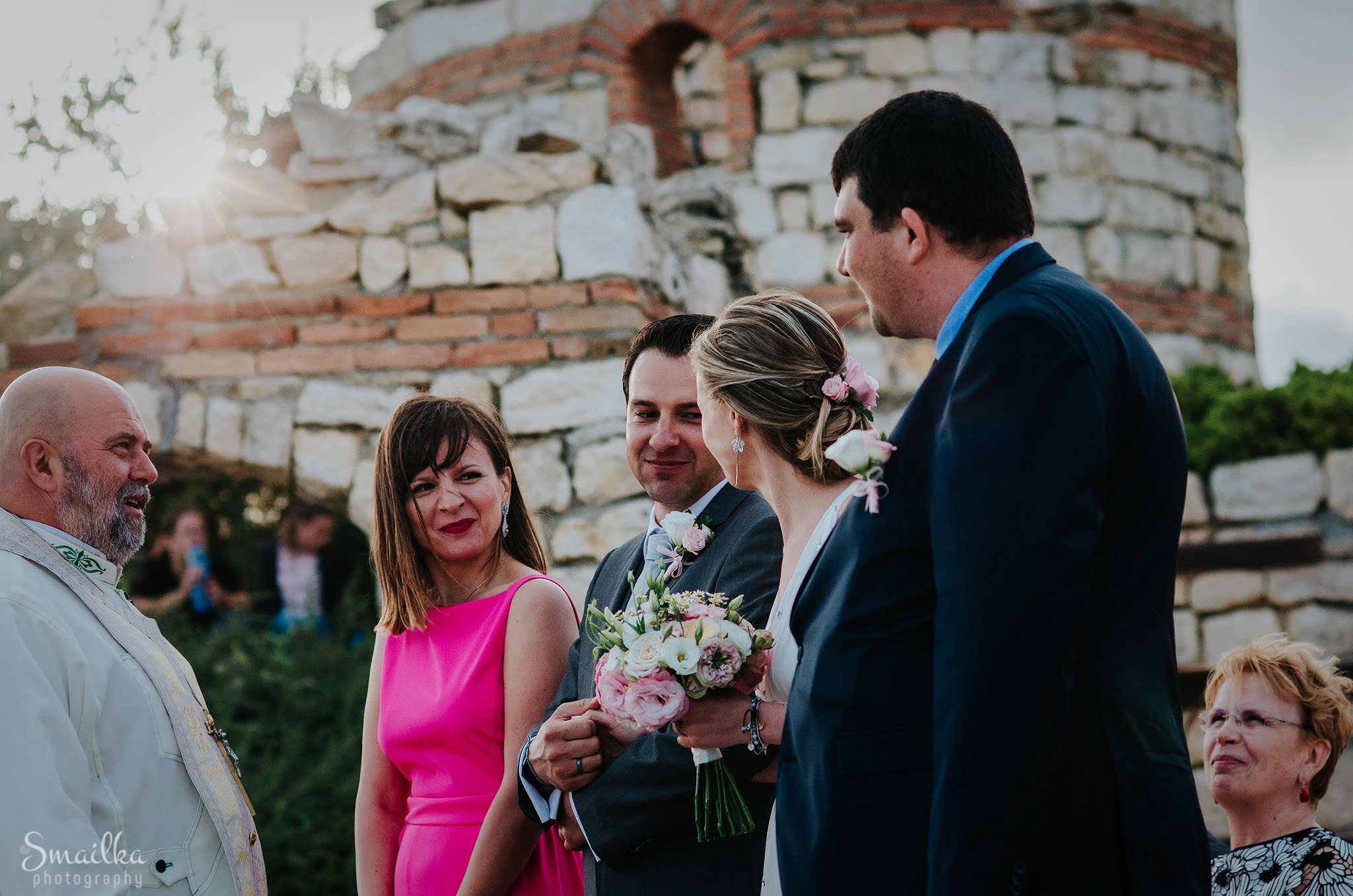 They are married at Black Sea Rama