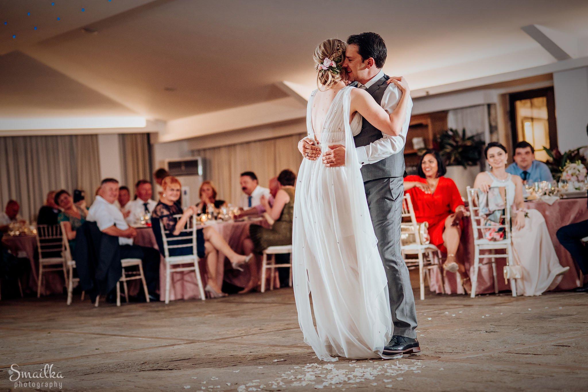 Ana and Boz first wedding dance at Black Sea rama